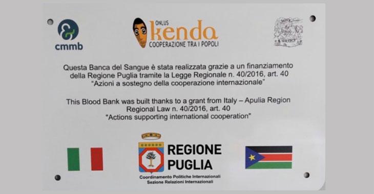 Galleria La Banca del Sangue costruita in Sud Sudan con i fondi della Regione Puglia è pronta ad operare - Diapositiva 4 di 4